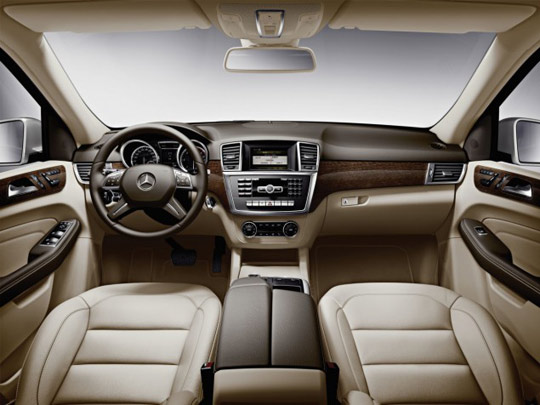 looks aside the m class is also very agile and comfortable in all conditions with 4matic permanent all wheel drive the new 2012 m class will make its us - Mercedes Benz Suv 2012