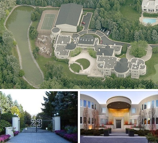Michael jordan puts chicago mansion up for sale for 29 for Chicago mansion for sale