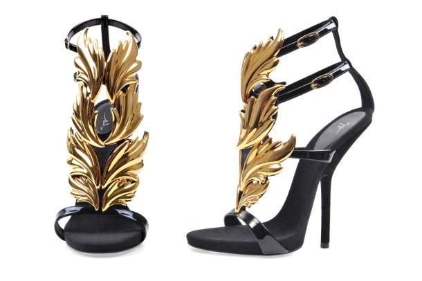 Giuseppe Zanotti's Fire-Wing sandals