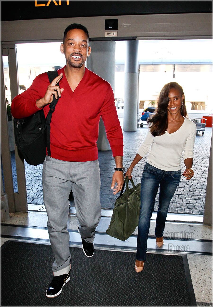 Will and jada pinkett smith out and about hard 2 knock shoppe - Divorce shoppe ...