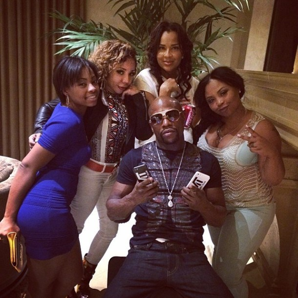 Image result for mayweather t.i fight