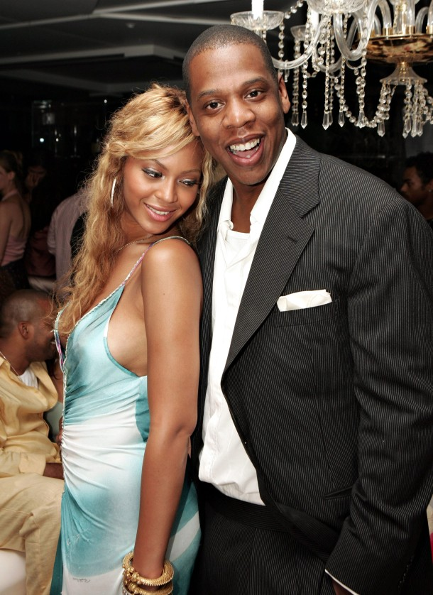 Archival Images of Beyonce & Jay Z during 6 year dating period
