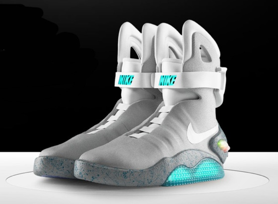 nike designer says that they will release back to the future air mag shoes in 2015 hard 2. Black Bedroom Furniture Sets. Home Design Ideas