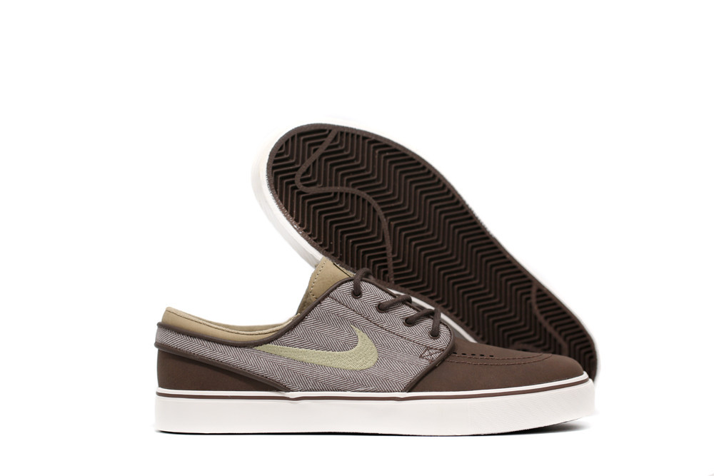 NIKE SB STEFAN JANOSKI BAROQUE BROWN, KHAKI AND WHITE – Hard 2 Knock Shoppe