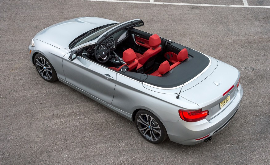2015 BMW 228i Convertible 126 876x535
