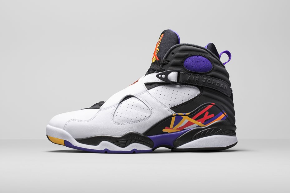 pretty nice 2bcd9 8b44c The Holiday offering will include three colorways of the Air Jordan 8  (VIII), which pay homage to historic moments during Michael Jordan s career.