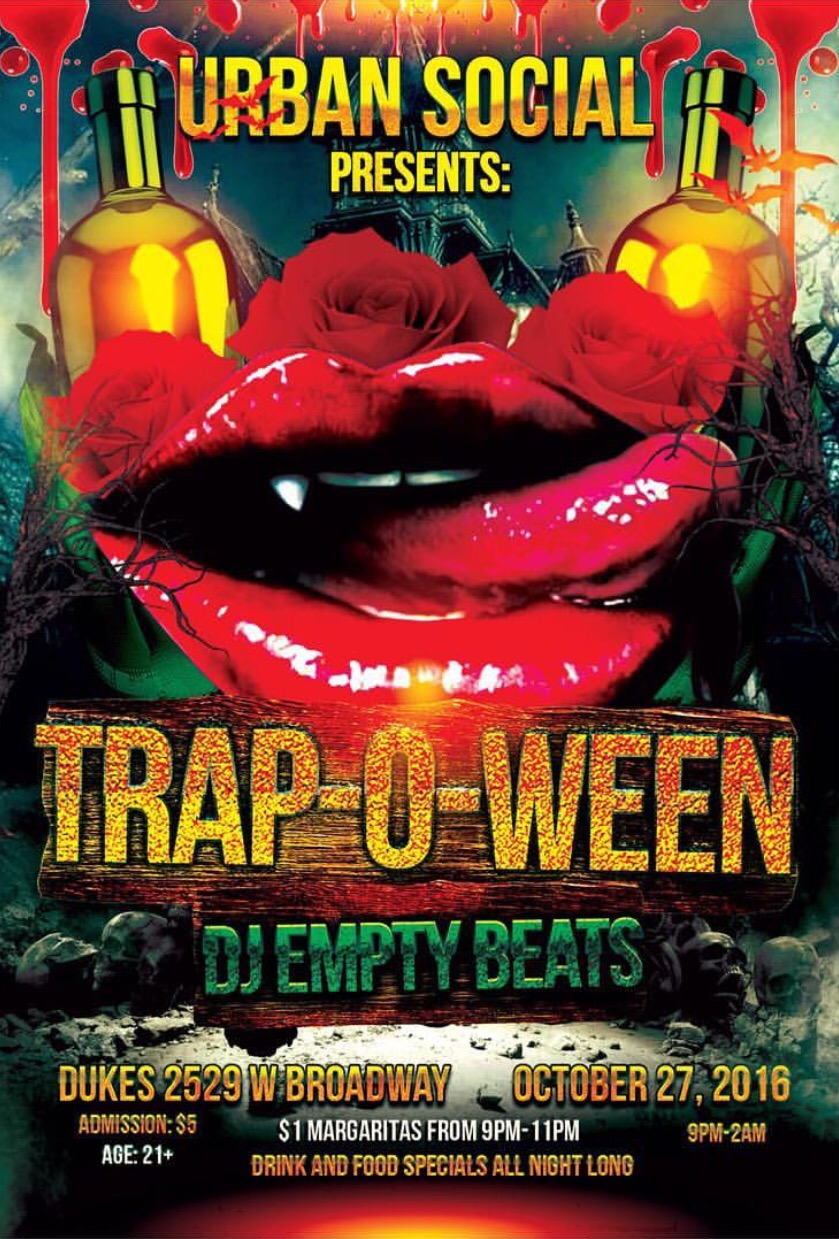 TRAP-O-WEEN HALLOWEEN PARTY @ DUKES IN LOUISVILLE, KY – Hard 2 ...